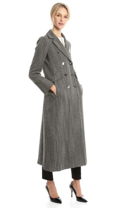 Cappotto in tessuto diagonale Diffusione Tessile