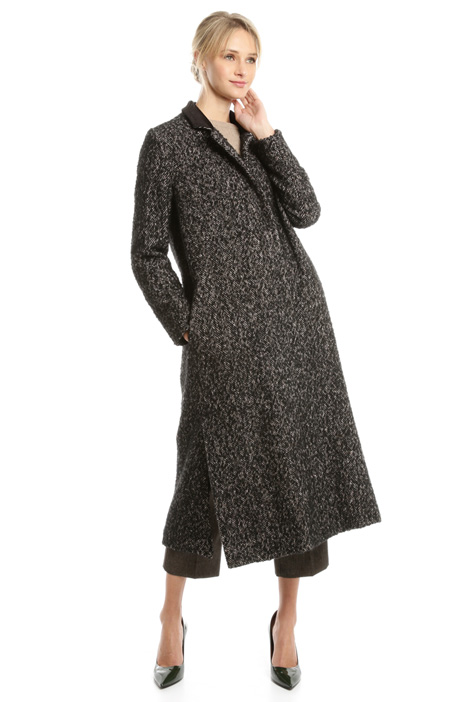 Tweed wool coat Intrend