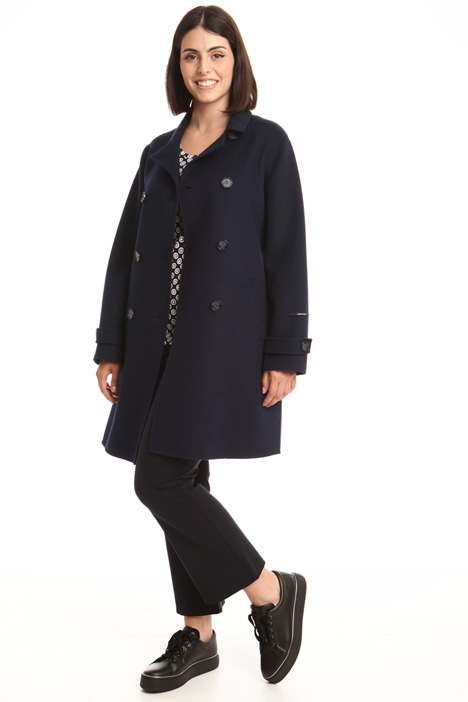 Double-layer wool coat Diffusione Tessile