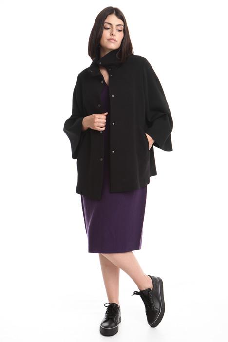 Wide sleeve coat Diffusione Tessile