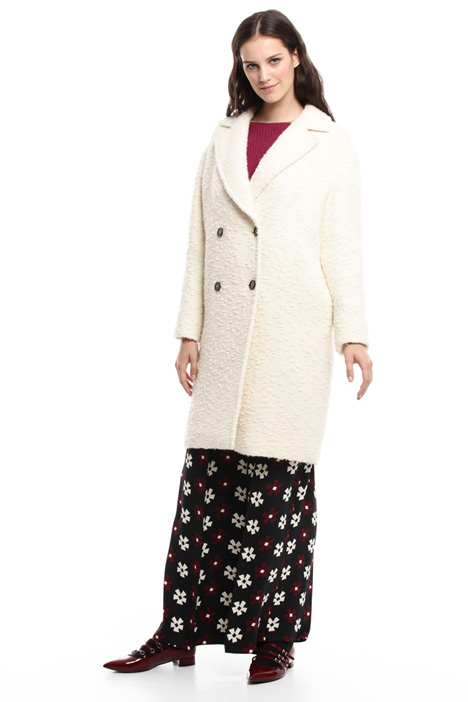 Cappotto in lana bouclé Diffusione Tessile