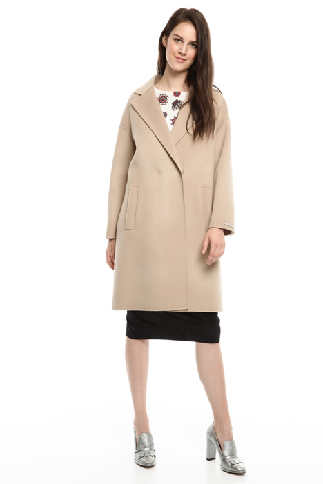 Pure wool coat Diffusione Tessile