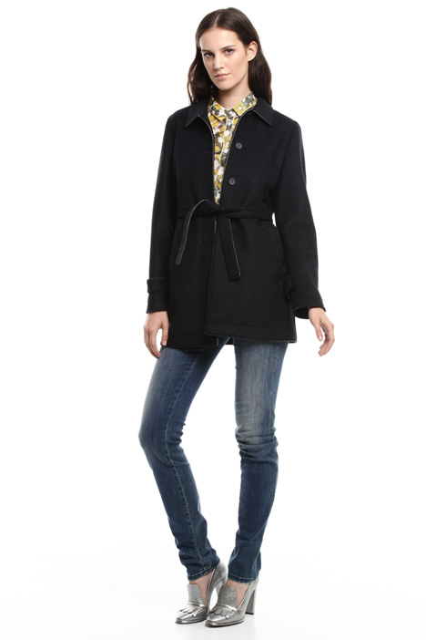 Cappotto in panno stretch Intrend