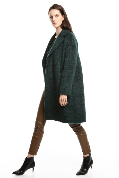 Mohair wool-blend coat Diffusione Tessile