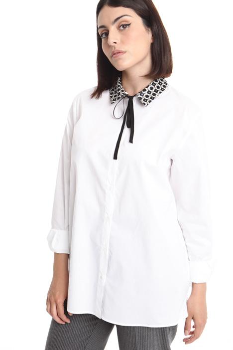 Camicia con colletto fantasia Diffusione Tessile