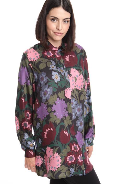 Silk twill shirt Diffusione Tessile