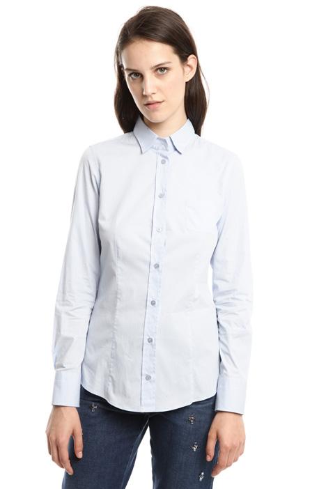 Camicia in cotone stretch Diffusione Tessile