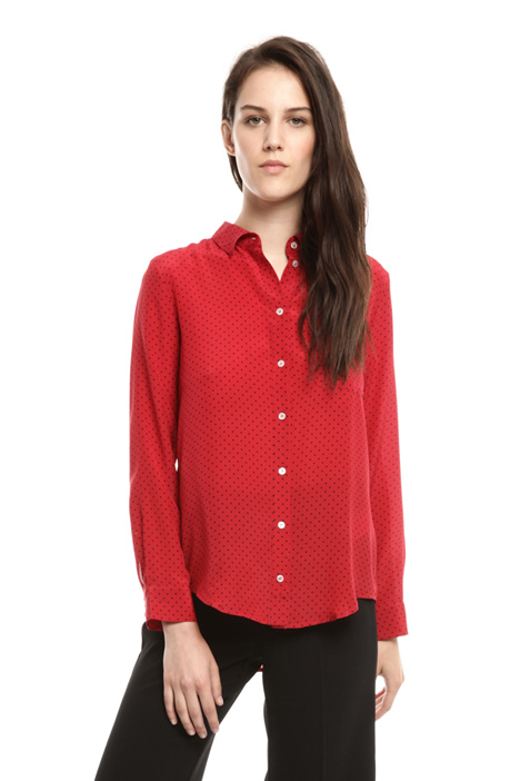 Pure silk shirt Diffusione Tessile