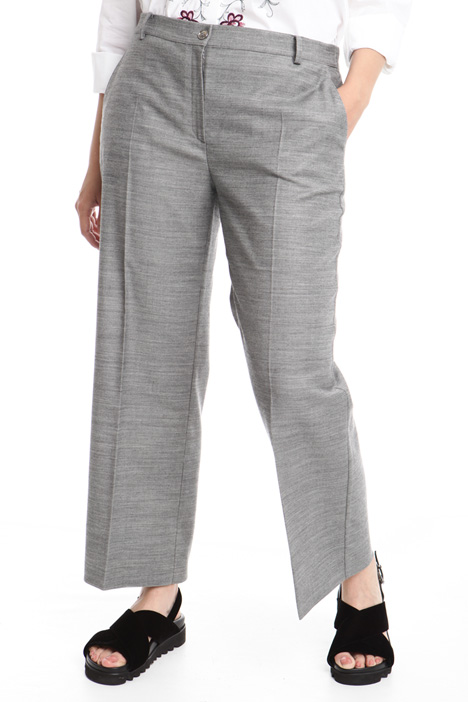 Straight leg wool trousers Intrend