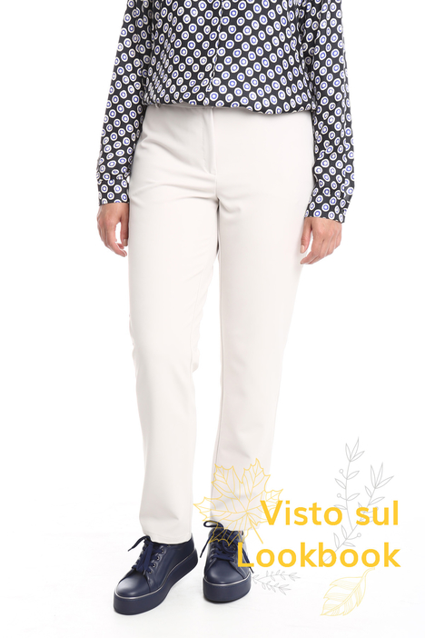 Twill fabric trousers Diffusione Tessile