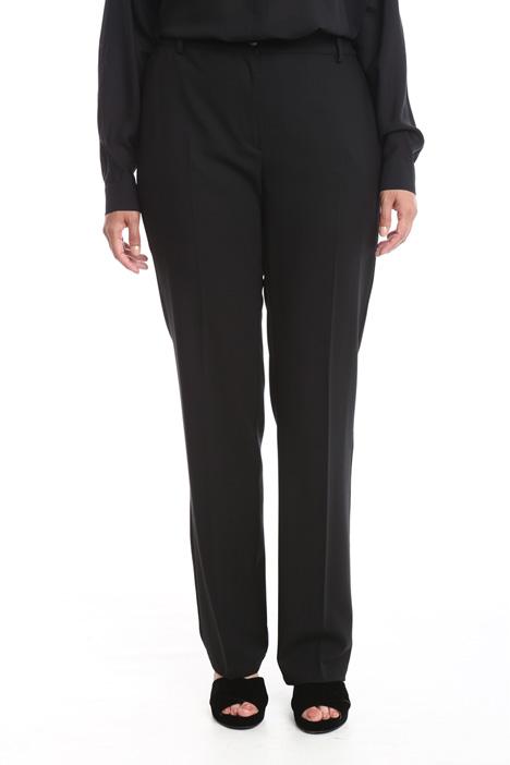 Pantalone classico in lana Diffusione Tessile