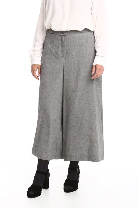 Flannel wide leg trousers Intrend