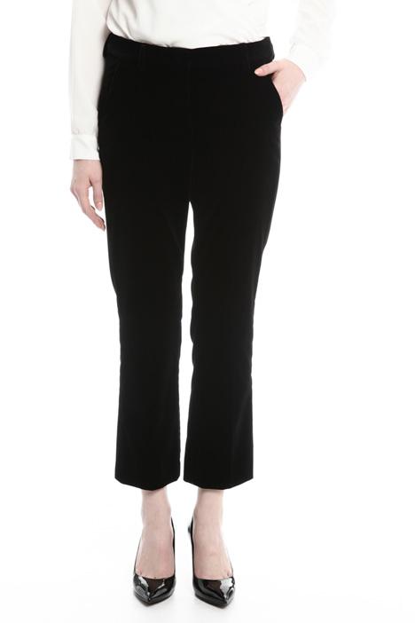 Pantaloni dritti in velluto Diffusione Tessile