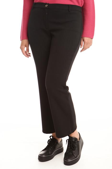Pantalone in tessuto compatto Diffusione Tessile