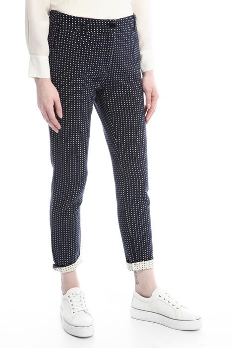 Pantaloni in tessuto tubico Diffusione Tessile