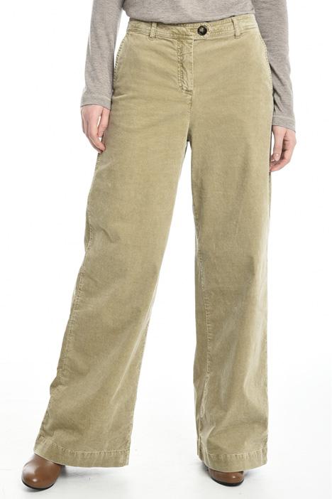 Pantaloni ampi in velluto Diffusione Tessile