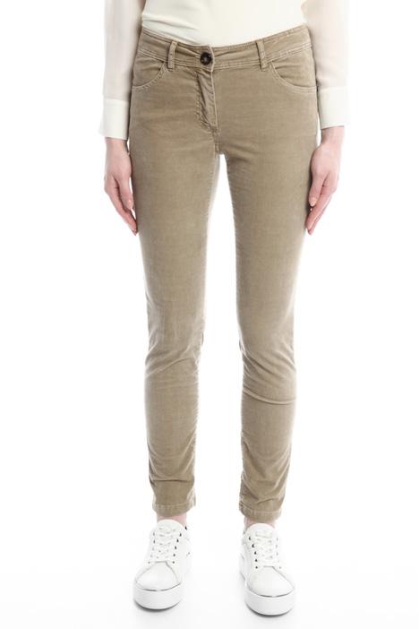 Pantaloni skinny in velluto Diffusione Tessile