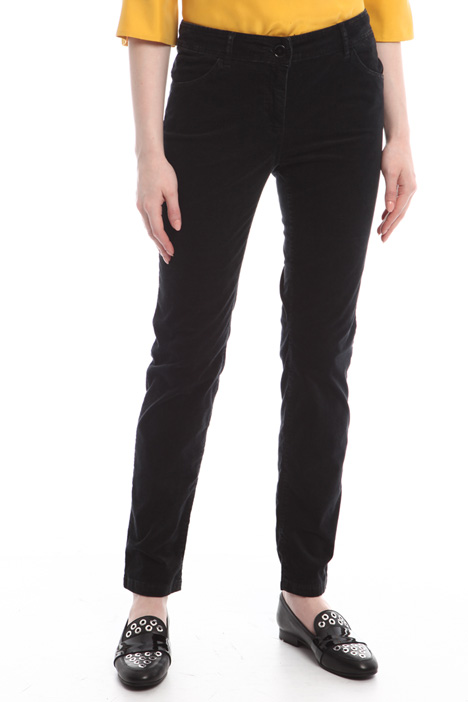 Skinny velvet trousers Diffusione Tessile