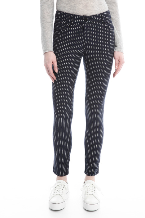 Patterned trousers Diffusione Tessile