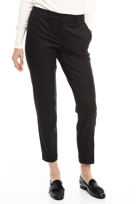 Yarn-dyed trousers Diffusione Tessile