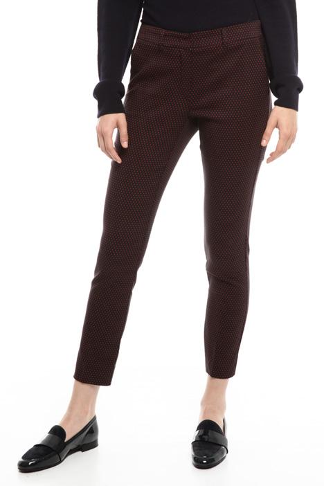 Pantalone jacquard stretch Diffusione Tessile