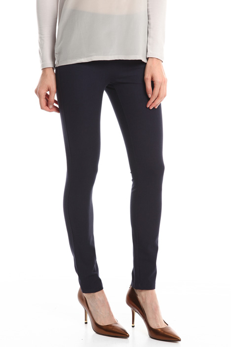 Stretch gabardine leggings Diffusione Tessile