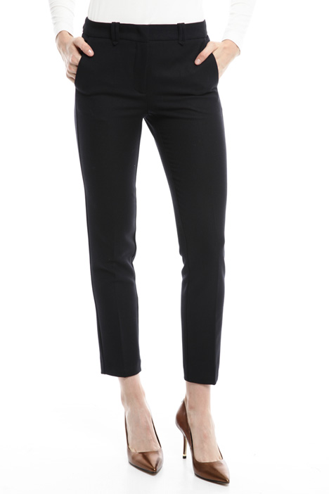Slim-fit stretch trousers Diffusione Tessile