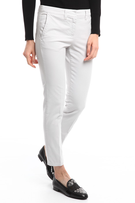 Pantalone in gabardina stretch Diffusione Tessile