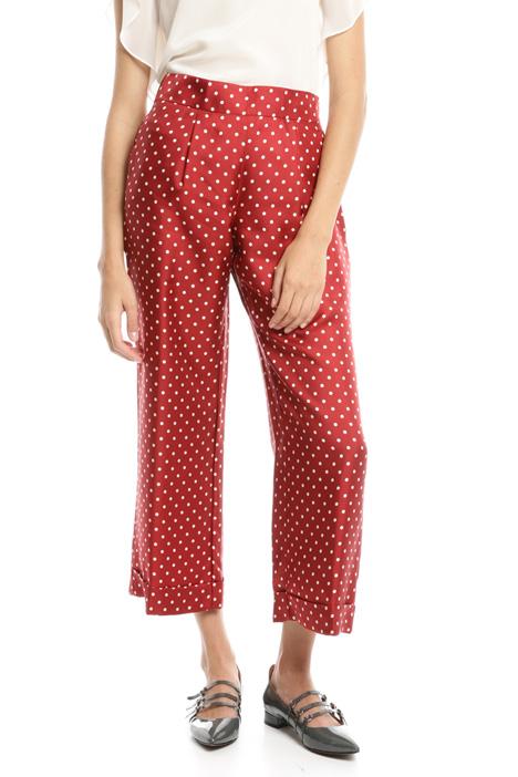 Silk twill trousers Diffusione Tessile