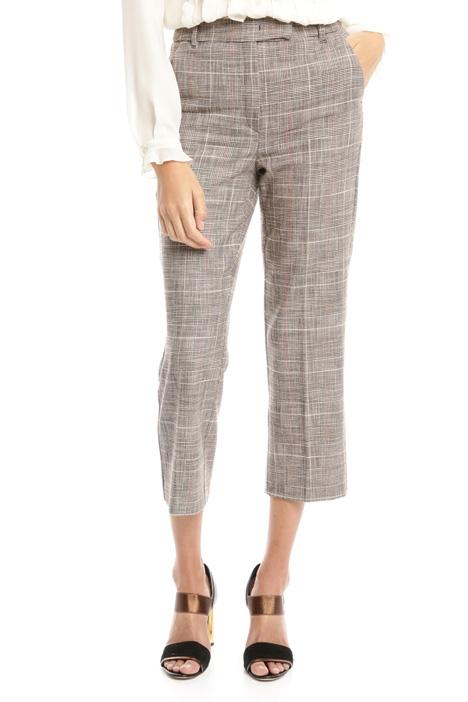 Pantalone cropped semiaderente Diffusione Tessile