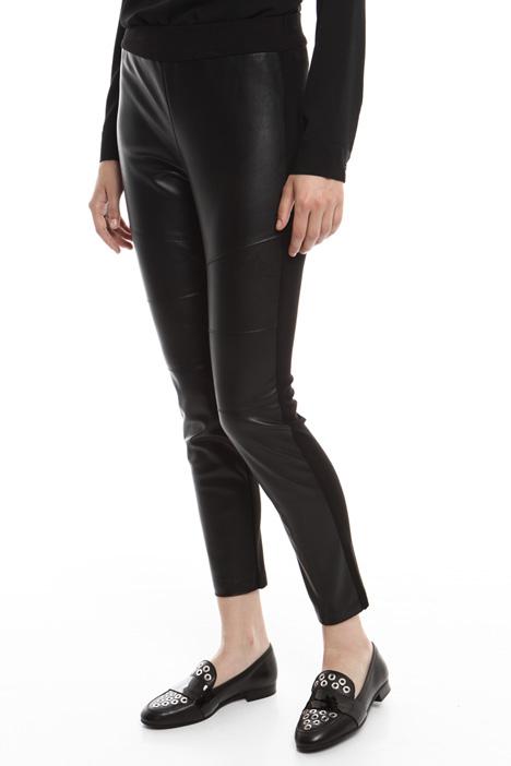 Leather-effect leggings Diffusione Tessile