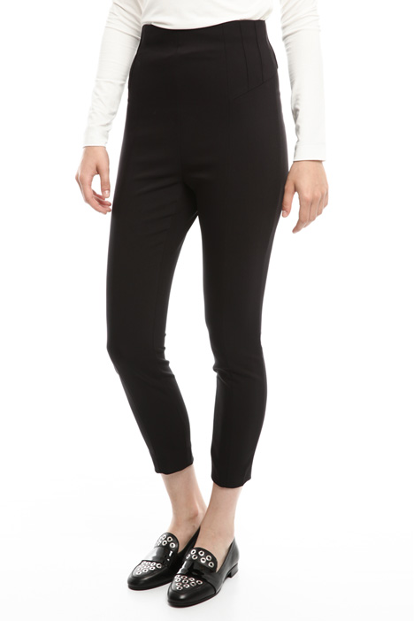 Pantalone skinny in cotone Diffusione Tessile