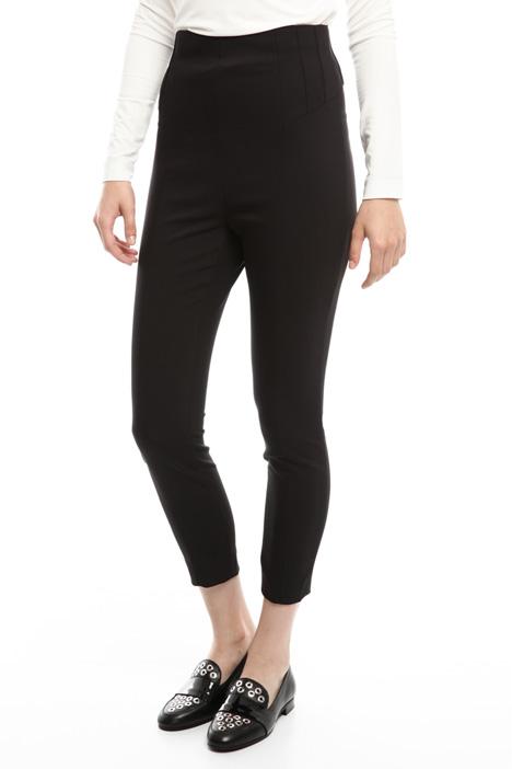 Skinny cotton trousers Diffusione Tessile