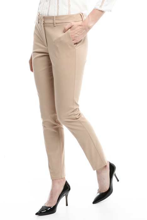Gabardine cigarette trousers Intrend