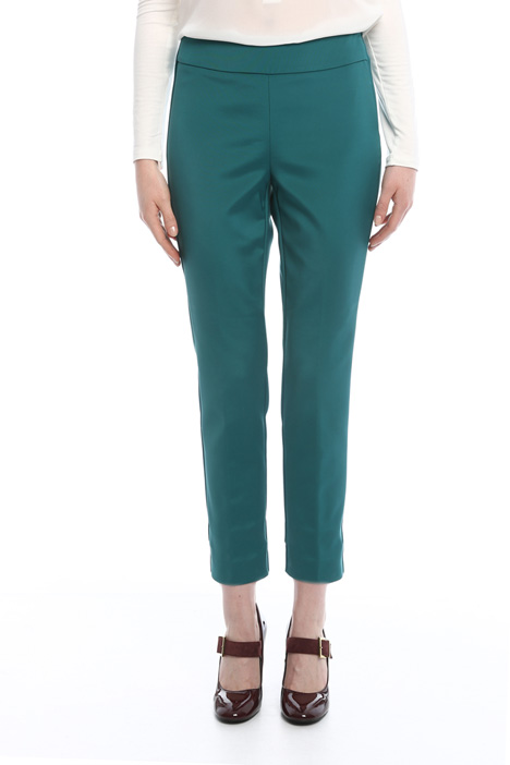 Side zip trousers Diffusione Tessile