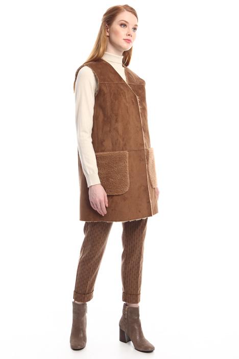 Sheepskin-effect vest Diffusione Tessile