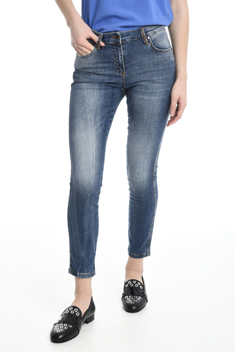 Cropped skinny jeans Diffusione Tessile