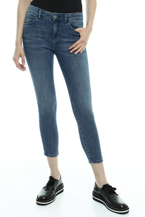 Jeans capri in denim stretch Diffusione Tessile