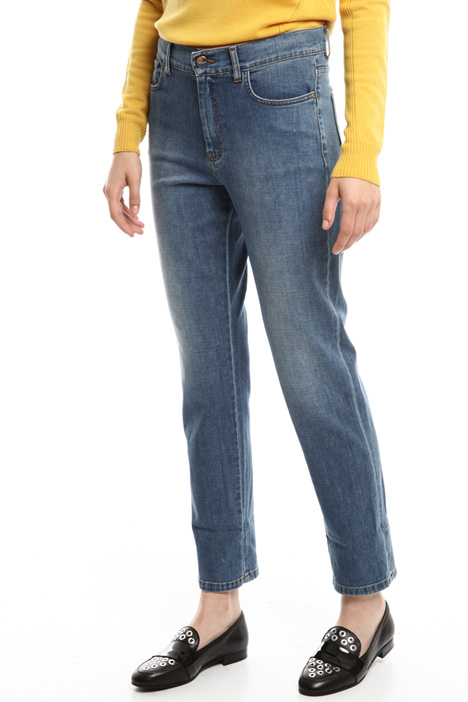 Straight cut denim jeans Diffusione Tessile