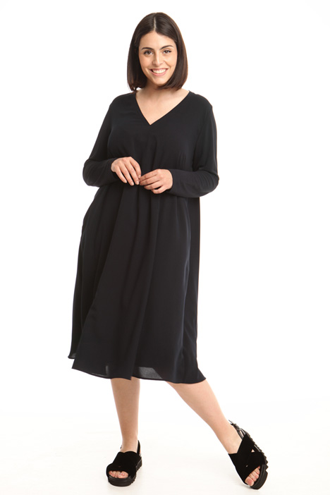 Oversized dress with pockets Intrend