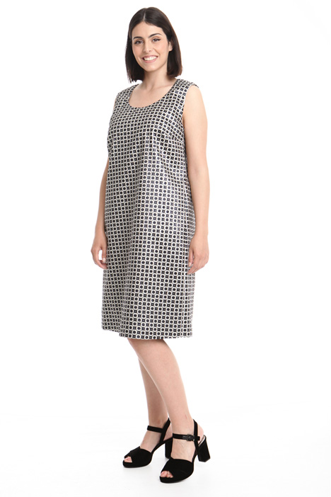 Jacquard-patterned dress Intrend