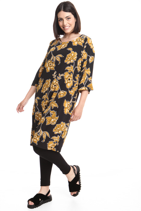Oversized floral dress Diffusione Tessile
