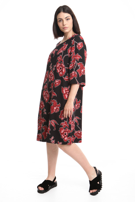 Oversized floral dress Intrend