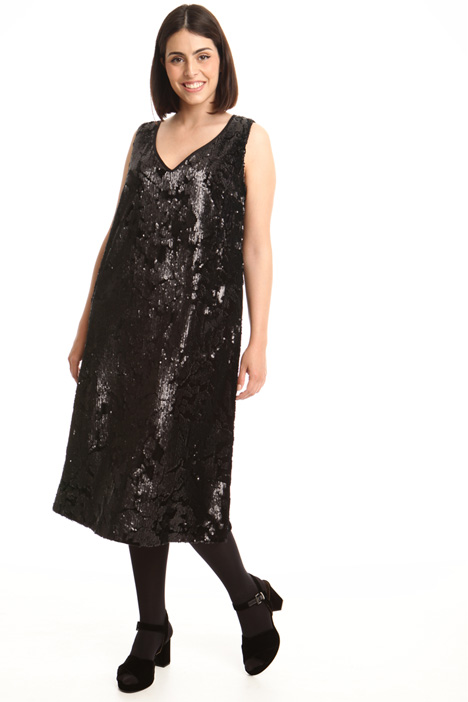 Chenille sequin dress Intrend