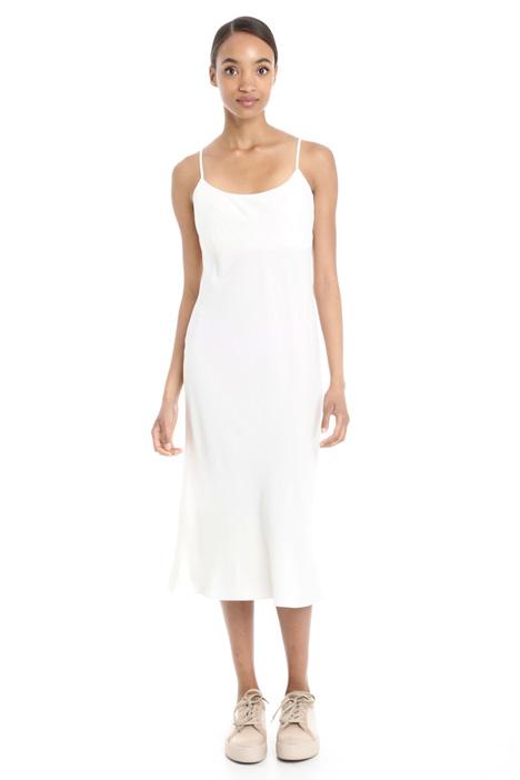 Dress in crepe fabric Diffusione Tessile