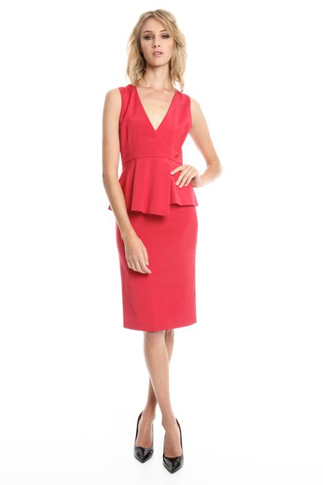 Flounced sleeveless dress Intrend