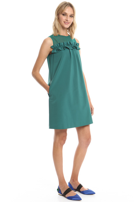 Faille A-line dress Intrend