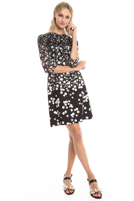 Floral pattern dress Intrend