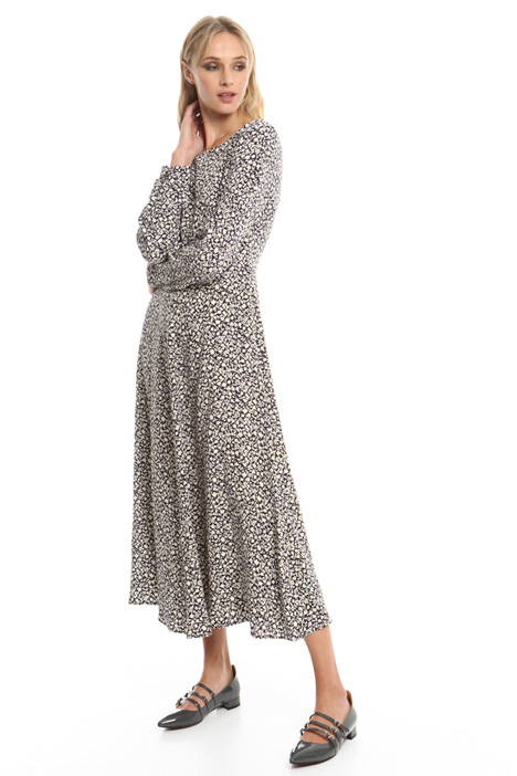 Compact crepe long dress Diffusione Tessile