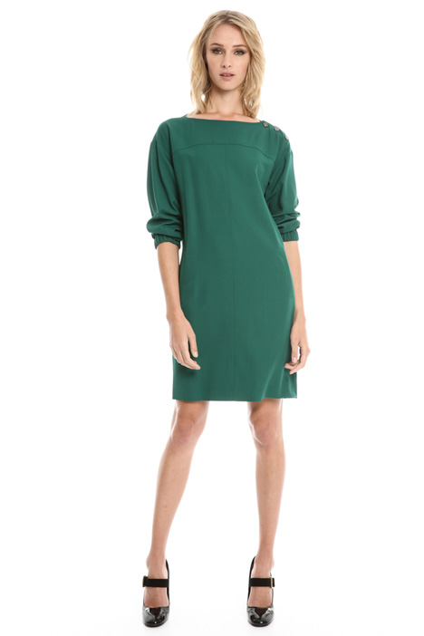 Short sack-like dress Intrend
